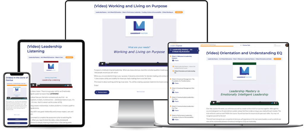 Leaders Mastery Course